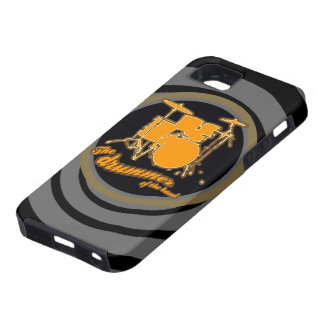 rock & roll ~ the drummer iPhone 5 cover