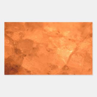 Rock Salt Lamp Rectangular Sticker