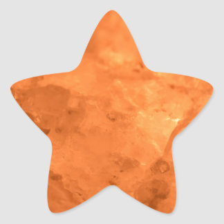 Rock Salt Lamp Star Sticker