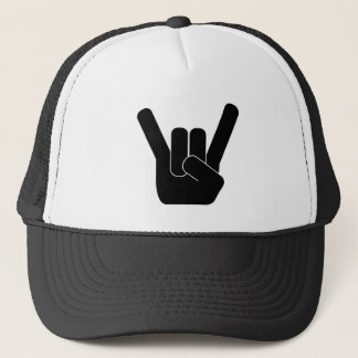 Rock Sign Trucker Hat