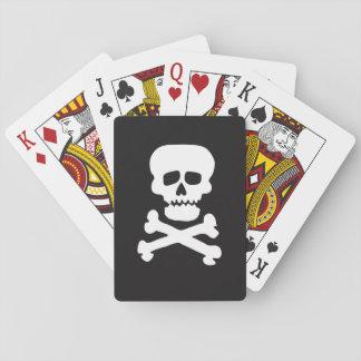 Rock Skull Poker Deck