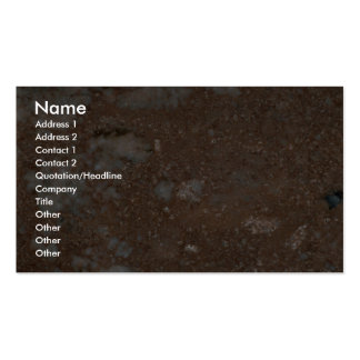 Rock Solid Arterial red Pack Of Standard Business Cards