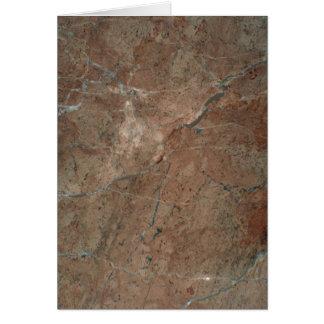 Rock Solid Copper tones Card