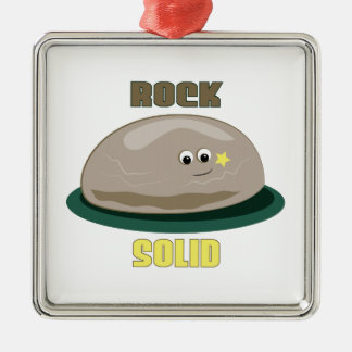 Rock Solid Christmas Ornament
