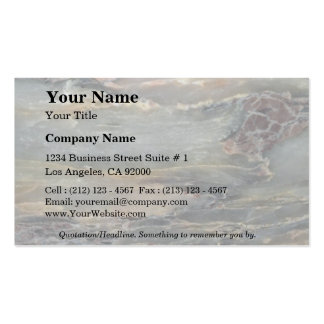 Rock Solid Earth layers Pack Of Standard Business Cards