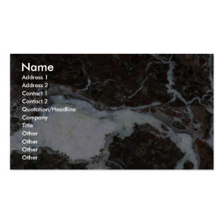 Rock Solid Glacier movement Pack Of Standard Business Cards