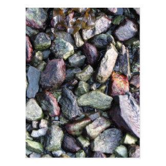 Rock solid postcard