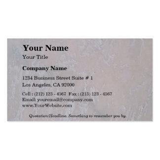 Rock Solid Subtle Pack Of Standard Business Cards