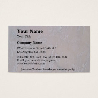 Rock Solid Subtle Business Card