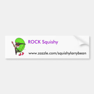 Rock Squishy Bumper Sticker website