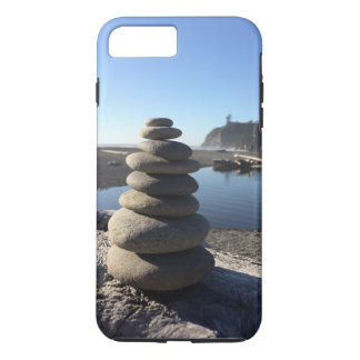 Rock Stacks at Ruby Beach iPhone 7 Plus Case