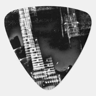 Rock Star an abstract electric guitar photograph Plectrum