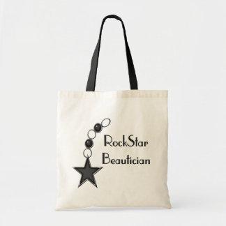 Rock Star Beautician Tote Bag