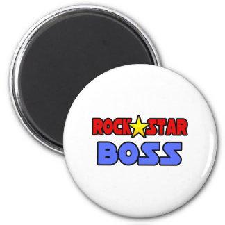 Rock Star Boss Refrigerator Magnet
