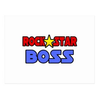 Rock Star Boss Post Card