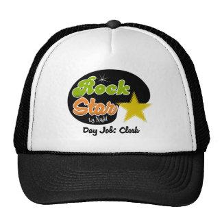 Rock Star By Night - Day Job Clerk Cap