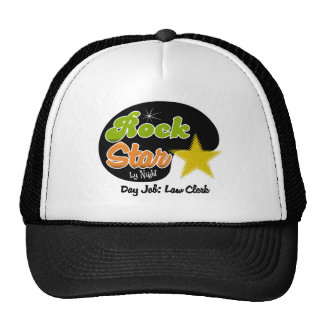 Rock Star By Night - Day Job Law Clerk Mesh Hats