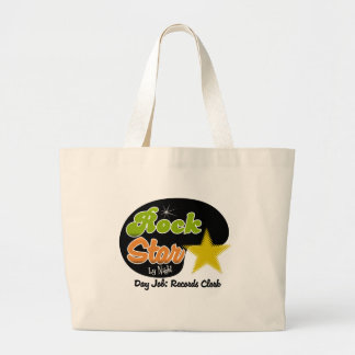 Rock Star By Night - Day Job Records Clerk Canvas Bag