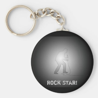 Rock Star! - Collector Keychain Basic Round Button Keychain