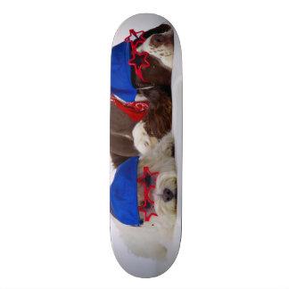 Rock Star Dogs Custom Pro Park Board Skateboard