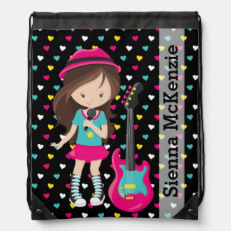 Rock Star Drawstring Bag