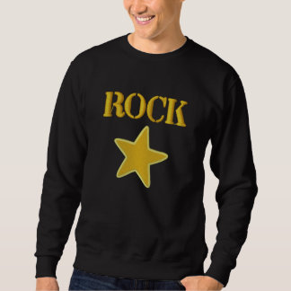 Rock Star Embroidered Sweat or Hoodie