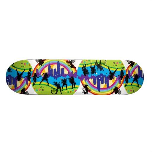 Rock Star Fairies Collection Skateboard Deck