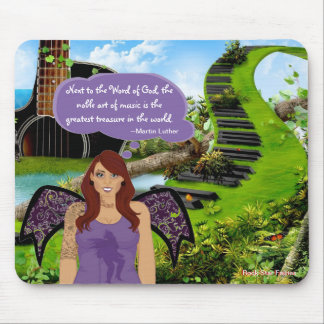 Rock Star Fairies Mouse Pad