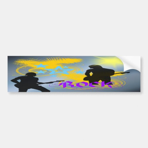 Rock Star Fantasy Bumper Stickers