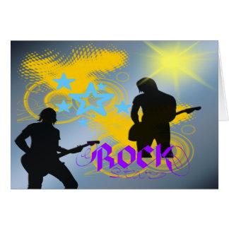 Rock Star Fantasy Card