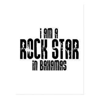 Rock Star In Bahamas Postcard