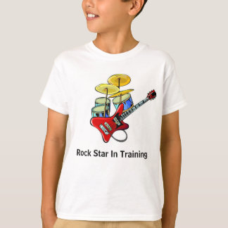 Rock Star In Training Shirts