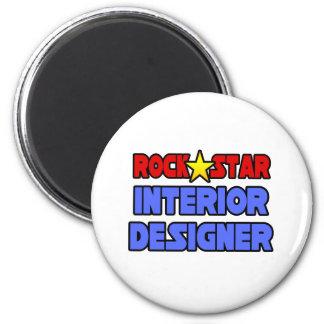 Rock Star Interior Designer Refrigerator Magnet