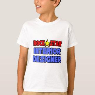 Rock Star Interior Designer Tee Shirt