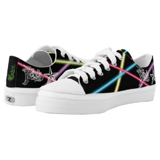 Rock Star Lasers Canvas Sneakers