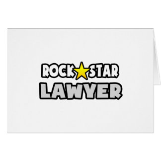 Rock Star Lawyer Card
