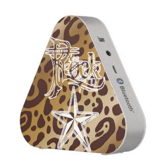 Rock Star Leopard Print Bluetooth Speaker
