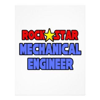 Rock Star Mechanical Engineer Full Color Flyer