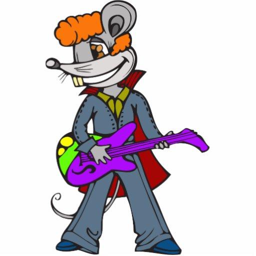 Rock Star Mouse Photo Cutout