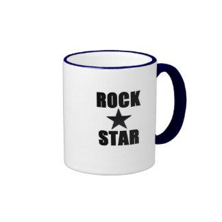 Rock Star Ringer Mug