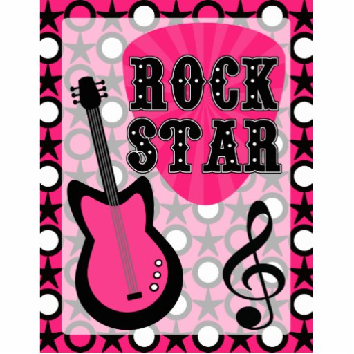 Rock Star Cut Outs