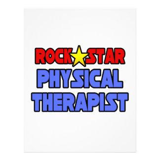 Rock Star Physical Therapist 21.5 Cm X 28 Cm Flyer