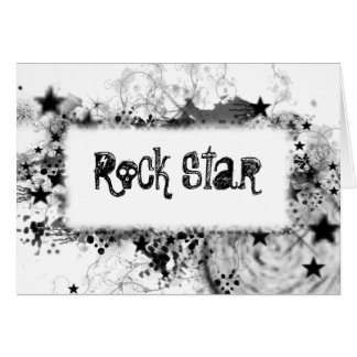 Rock Star Style Card
