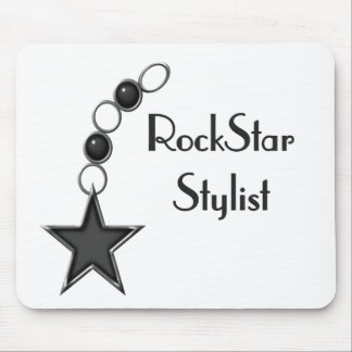 Rock Star Stylist Mouse Pad