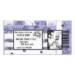 Rock Star Ticket Invitation or Thank You Card Photo Card