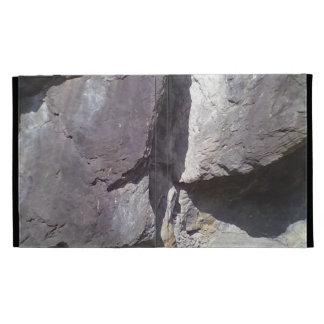rock & stone iPad folio cover