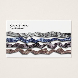 Rock Strata 02 Business Card
