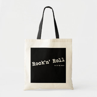 Rock style tote bag
