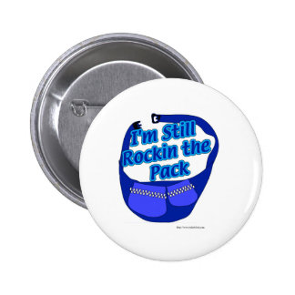 Rock that Pack! 6 Cm Round Badge