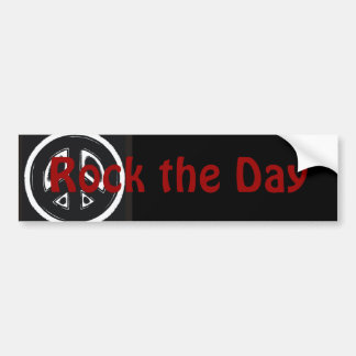 Rock the Day 2008 Bumper Sticker